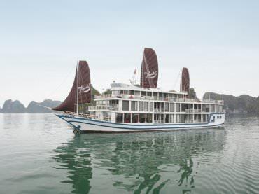DU THUYỀN LA PINTA : Du thuyền 5* thăm Vịnh Lan Hạ - Cát Bà - Hang Sáng + Hang Tối