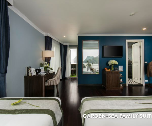 Phòng Garden-Sea Family Suite