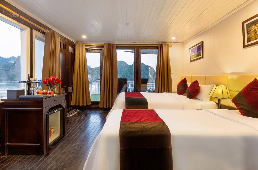 Phòng ngủ của du thuyền Paloma