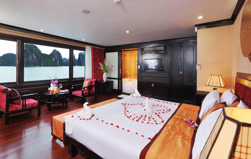Phòng ngủ của du thuyền Starlight