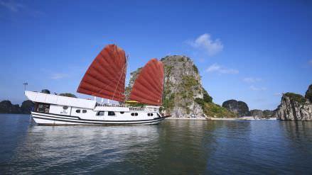 DU THUYỀN DRAGON BAY 1 NGÀY : Du lịch hạ long 1 ngày + Bái Tử Long