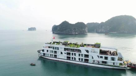 DU THUYỀN ERA : du thuyền 5* thăm Vịnh Lan Hạ - Hang Sáng + Hang Tối