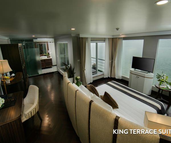 Phòng King Terrace Suite