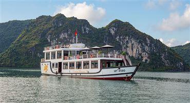 DU THUYỀN ORCHID 1 NGÀY : Tour du lịch hạ long 1 ngày + Vịnh Lan Hạ