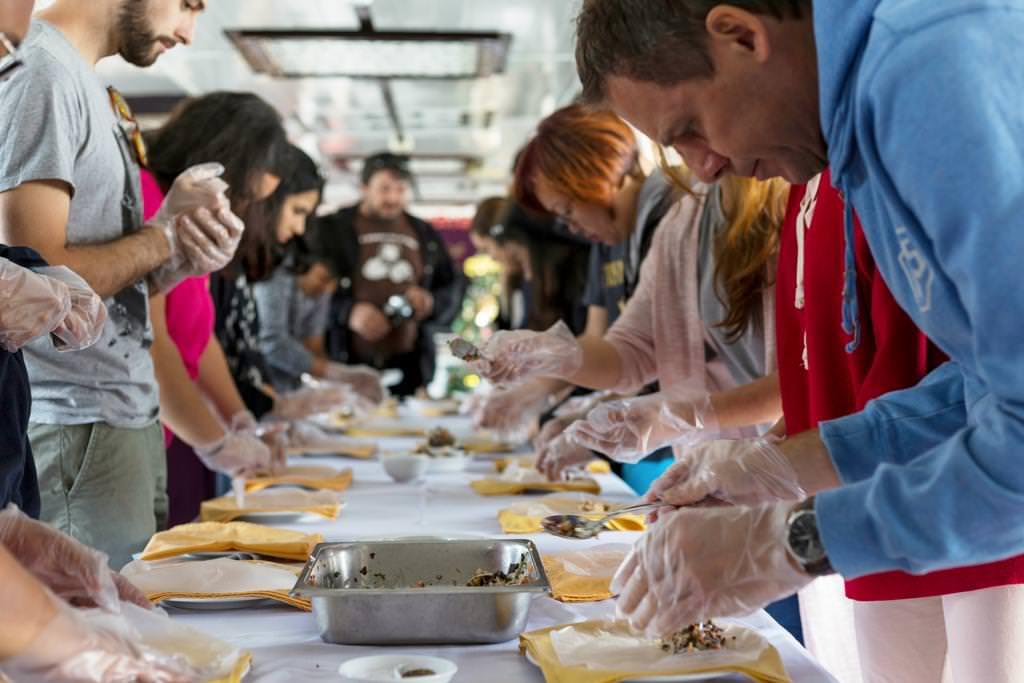 Lớp học nấu ăn với du thuyền Paloma