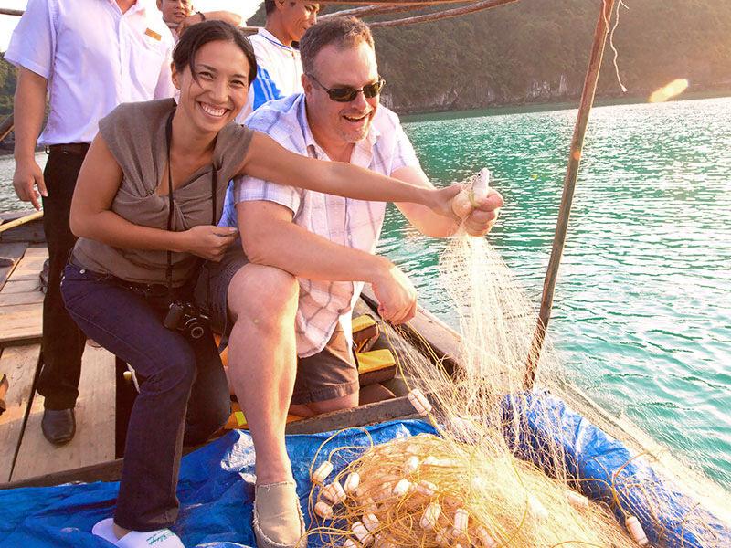 Đánh cá cùng du thuyền Paloma