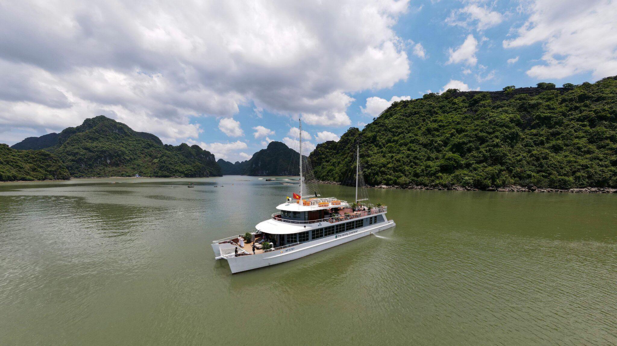 du thuyền Catamaran 1
