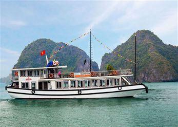 DU THUYỀN WEGO : Tour du lịch hạ long 1 ngày + Động Sửng Sốt + Titop