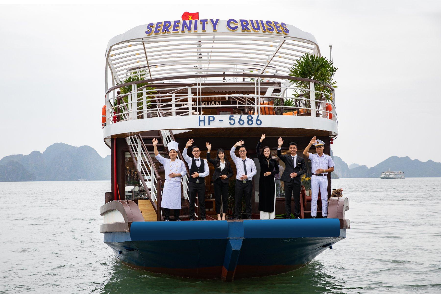 Du thuyền Serenity 3