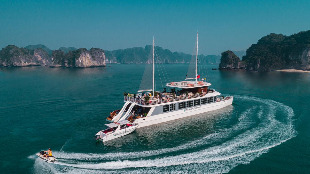 du thuyền Catamaran 2