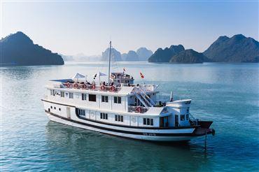 DU THUYỀN BHAYA : Tour du thuyền Hạ Long 1 ngày cao cấp + Phòng nghỉ trên du thuyền