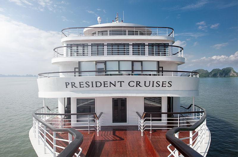 du thuyền president 27