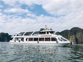 DU THUYỀN HANA : Tour du thuyền Hạ Long 1 ngày + Ăn trưa + Xe Limousine 17C