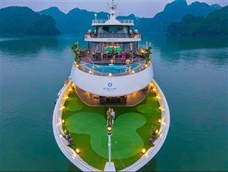 DU THUYỀN 5* STELLAR OF THE SEAS | Tour 2 ngày 1 đêm . Miễn phí xe đưa đón & Kayak