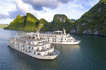 DU THUYỀN PARADISE ELEGANCE : Tour Hạ Long 2N/1Đ + Các bữa ăn trên du thuyền