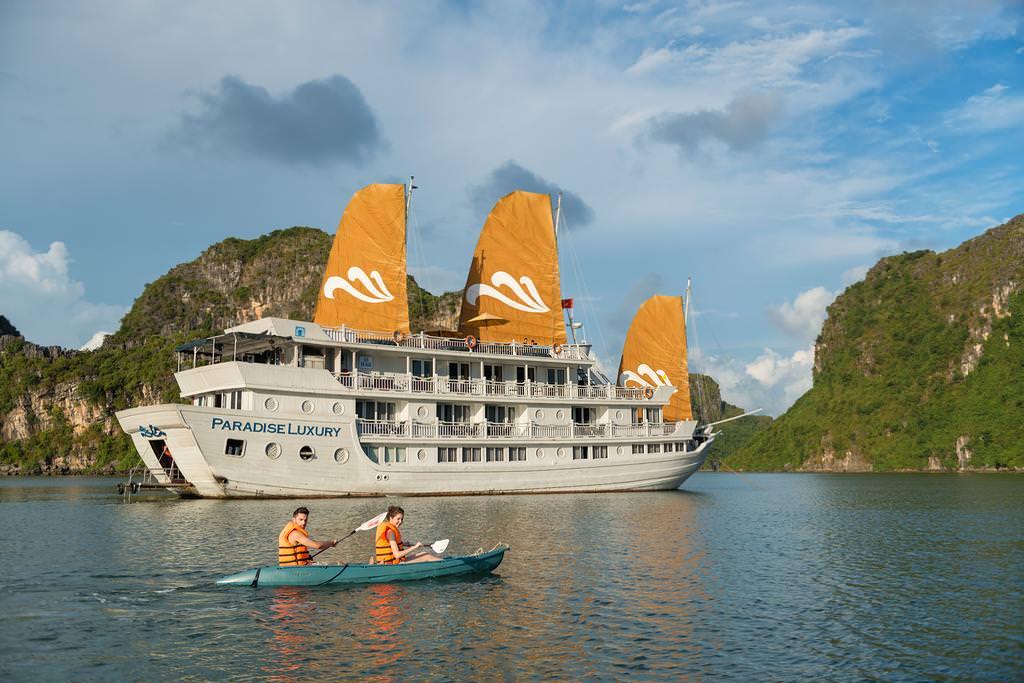 Du thuyền Paradise 5