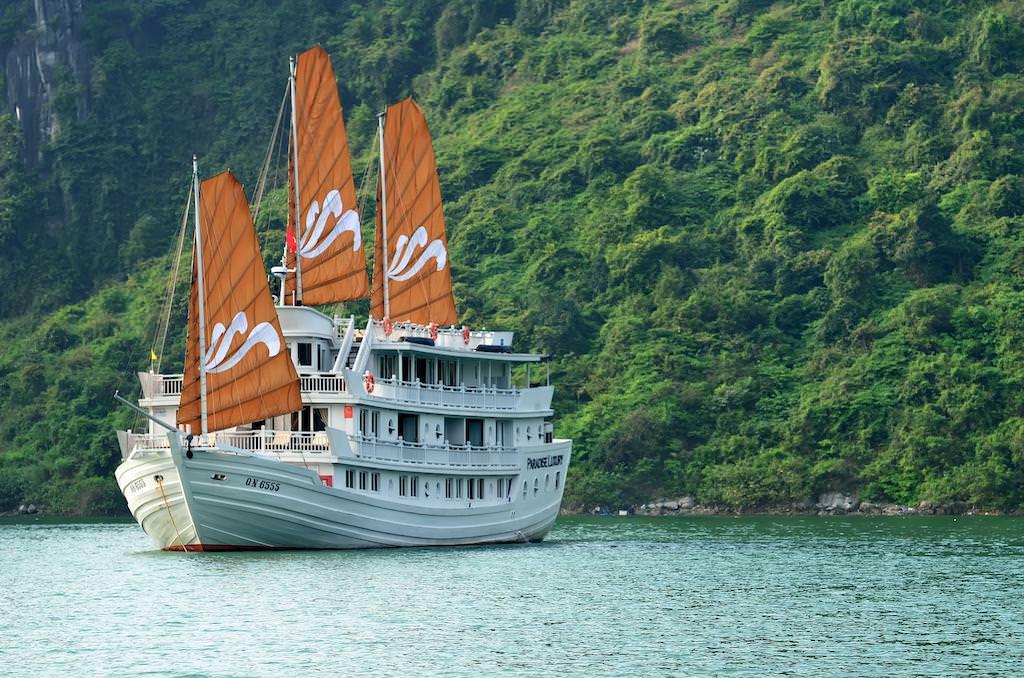 Du thuyền Paradise 4