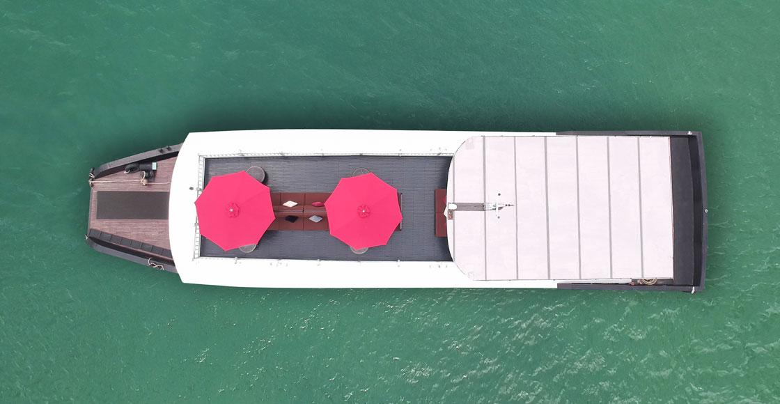 du thuyền Paradise 1 ngày g