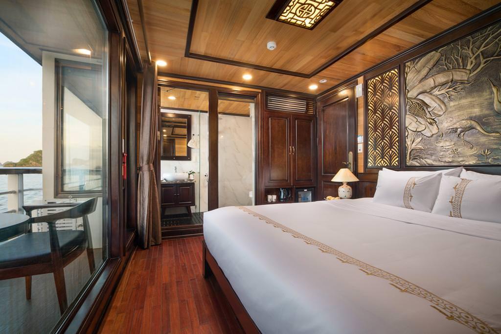 phòng ngủ du thuyền perla dawn